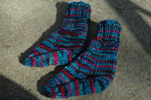 uncuffed socks