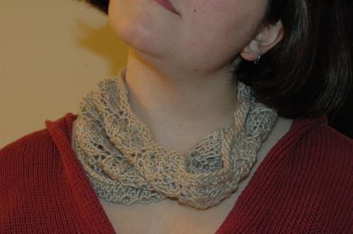 neckwarmer modeled