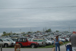 lots of cars